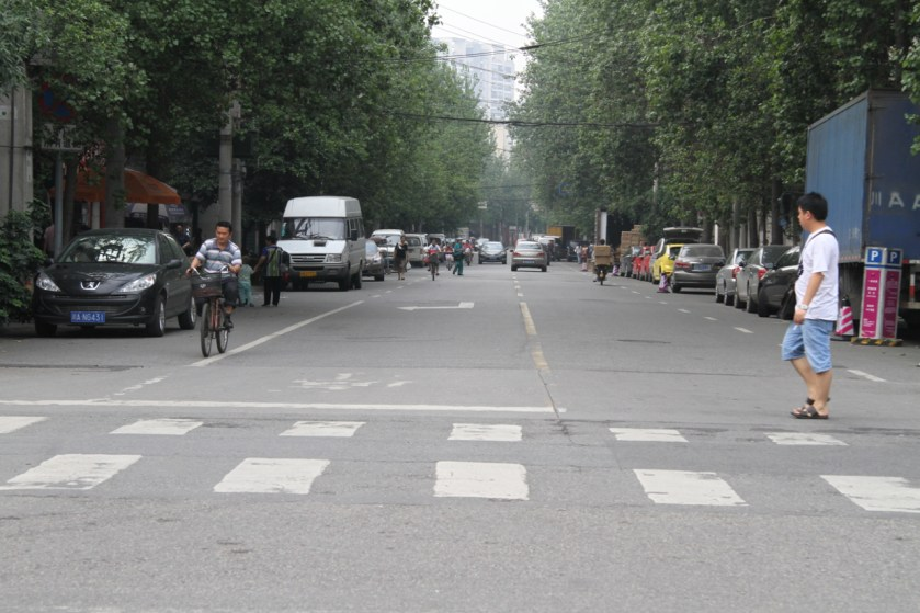 Streets around CIB