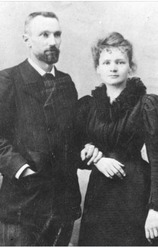 زواج ماري كوري من بيير