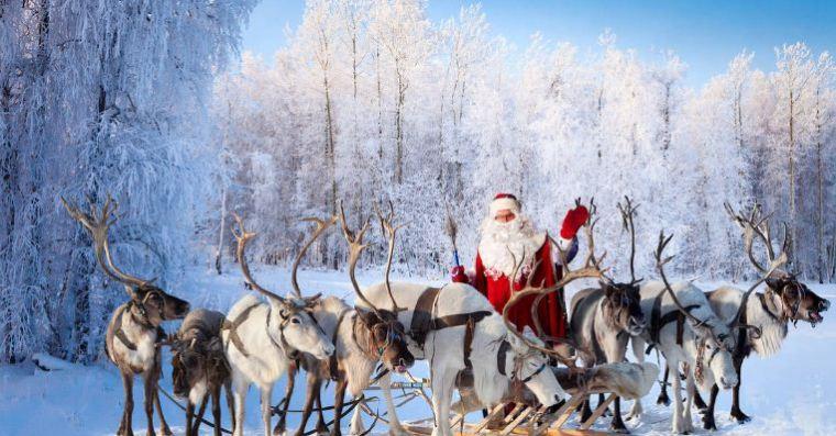 بابا نويل والرنة