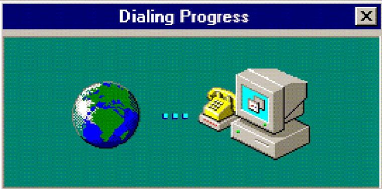 تاريخ سرعة الإنترنت
