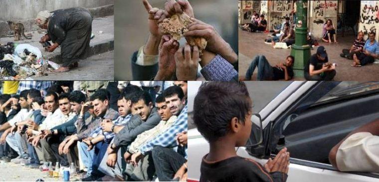سوء الأوضاع وثورة 25 يناير