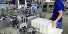 صناعة المناديل الورقية