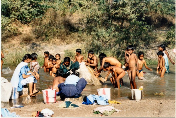 Zulu Women Bathing 28