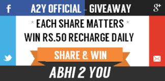abhiyou giveaway
