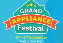 flipkart grand appliance sale