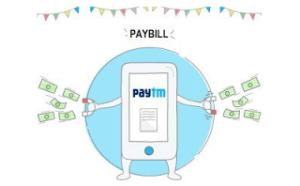 paytm pay bills  off