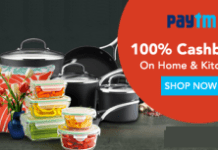 per cb sale on home and kitchen sale pm