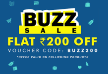 Printavenue buzz sale flat rs off