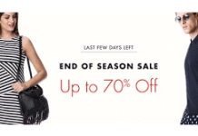 amazon end of season sale offer