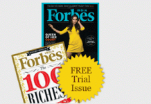 Forbes india magazine free trial issue