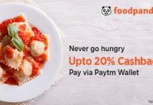 foodpanda paytm