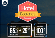 hotel bookings gokarde goibibo offer loot