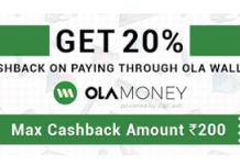 purplle ola money  cashback offer