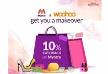 woohoo app offer cashback looot myntra