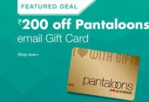 Pantaloons gift card amazon loot