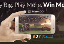 Wondershare MirrorGo ay tutorials