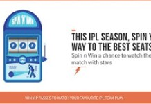 freecharge Spin N Win offer IPL