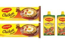 maggie pichku and chichen noodles