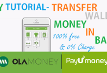 ay tutorial transfer ola payunmoney wallet money in bank