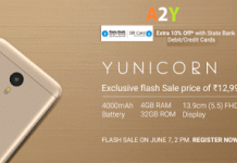 flipkart yunicorn flash sale rs only
