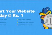 hostgator web hosting at re only