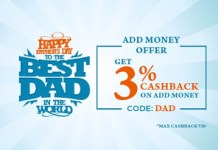 mobikwik fathers day loot offer