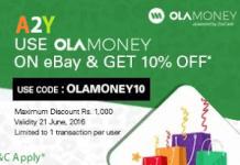 ola money on ebay get  off