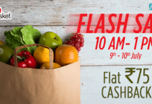 big basket mobikwik flash sale