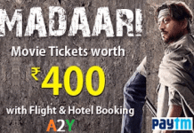 easemytrip free movie ticket loot offer