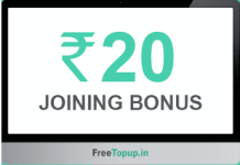 freetopup loot offer referral