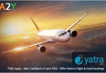 paytm yatra  cashback on flights