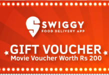 swiggy rs movie voucher free on orders