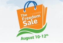 flipkart the freedom sale august