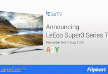 letv launched in india