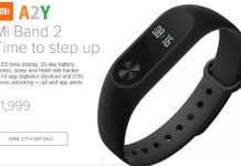 mi band  launched