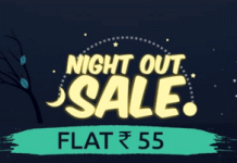 shopclues night out sale loot at rs only