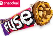 snapdeal cadbury fuse milky loot