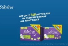 stayfree free paytm cash