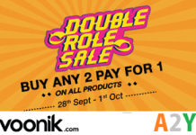 voonik double role sale