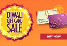 bookmyshow diwali gift card sale free amazon loot
