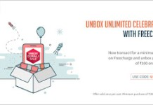 freecharge unbox