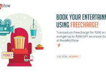 freecharge bookmyshow movie fc