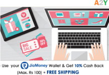 homeshop loot jio money offer