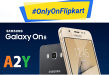 flipkart samsung galaxy on