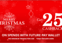 futurepay christmas loot  cashback