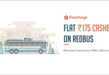 redbus rs cashback on rs or more