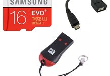 16GB MemoryCard + OTG + Card Reader @ Just Rs.230