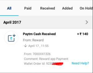 Trusted Free Paytm Cash Loot - [Proof Added]