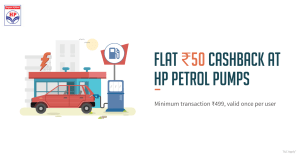 FreeCharge HP Petrol Offer