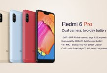 Redmi 6 Pro